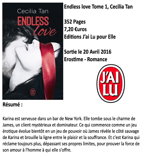 Endless love Tome 1, Cecilia Tan