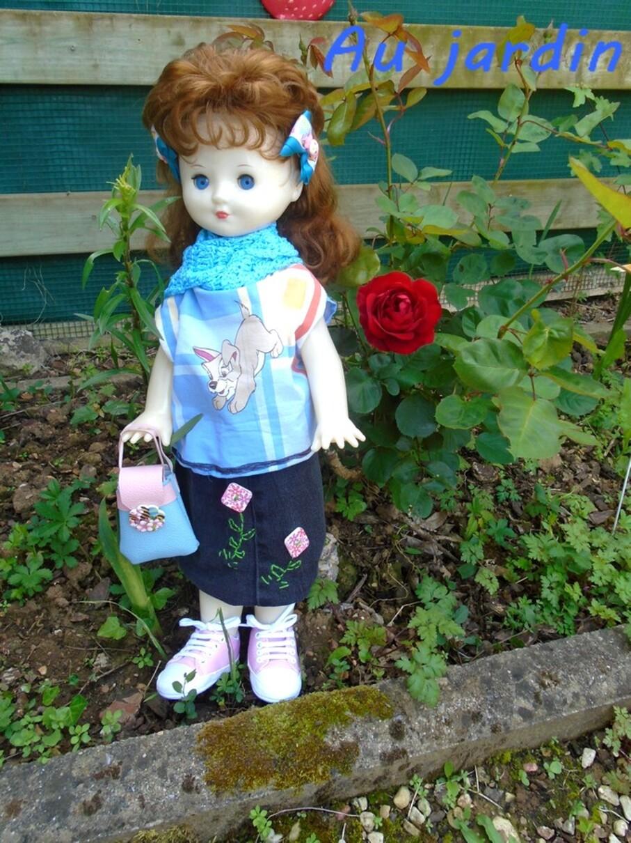 Première rose du jardin