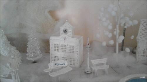 Mon village blanc : la mairie