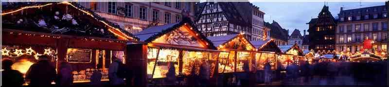 Noël marché de Noël de Strasbourg Bas-Rhin