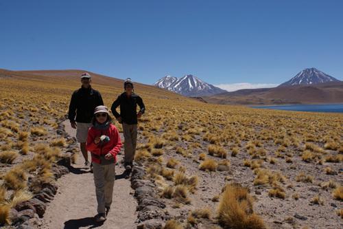 Les lacs de l'Altiplano