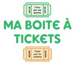Gestion des tickets: fonctionnement de Laure 81, gestion comportement, classe, école, élèves