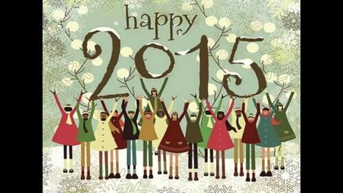 Au revoir 2014, bonjour 2015