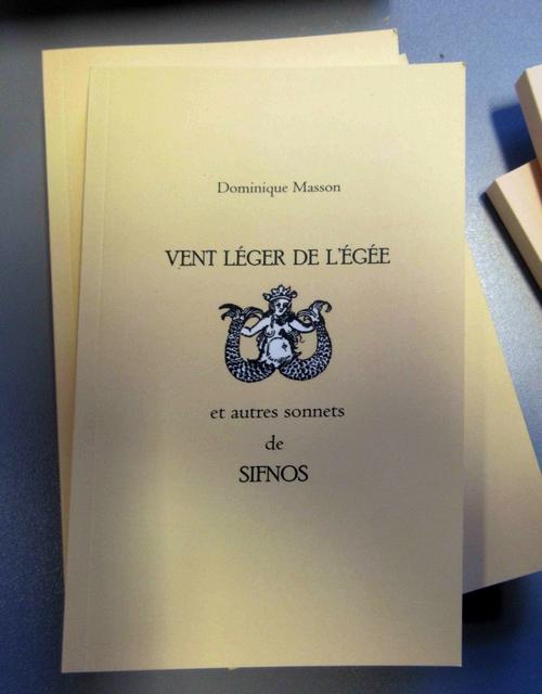 """Dominique Masson a dédicacé son ouvrage """"Les aventures d'Albert et Ian"""" et son recueil de poésies  à la Bibliothèque Municipale de Châtillon sur Seine"""