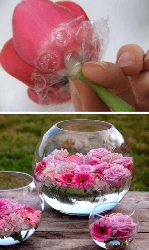 rose verre
