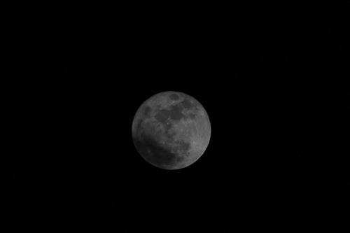 La plus belle lune surtout plus grosse !!