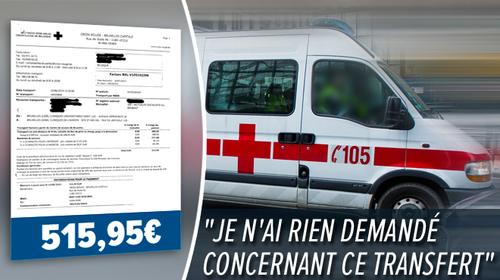 515 euros pour frais de déplacement en ambulance de Saint-Luc à Saint-Michel