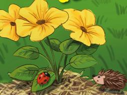 * Des jeux sur le thème du jardin et de la nature