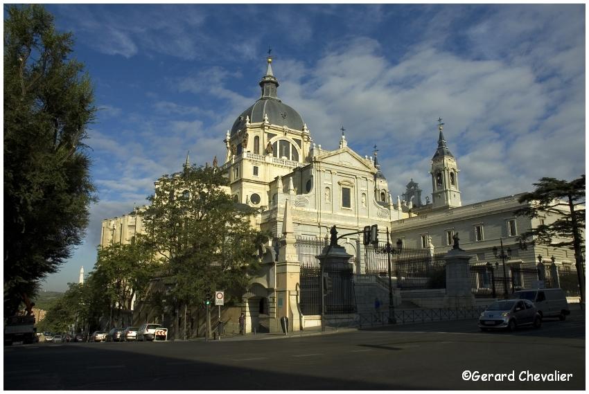 Madrid - Cathédrale de la Almudena  #1
