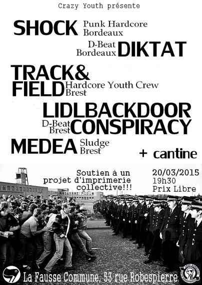 Concert le vendredi 20 mars