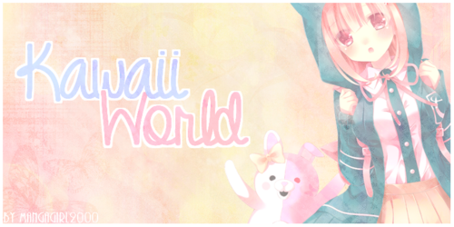 N°1 : Kawaii World [Render = Danganronpa]