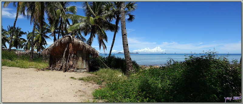 La randonnée de la traversée de Nosy Mitsio se termine dans un autre village - Madagascar