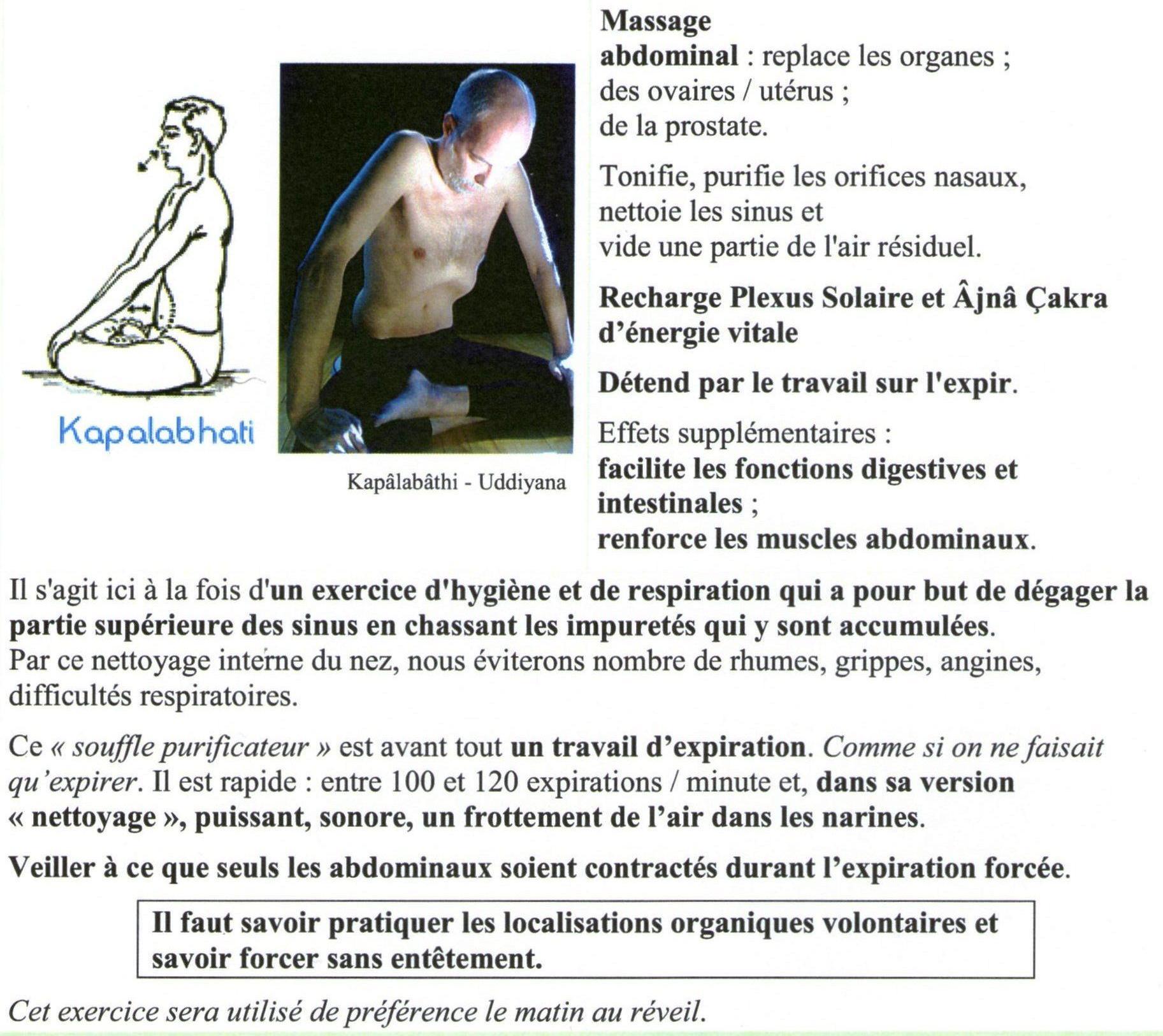 Respirations fondamentales