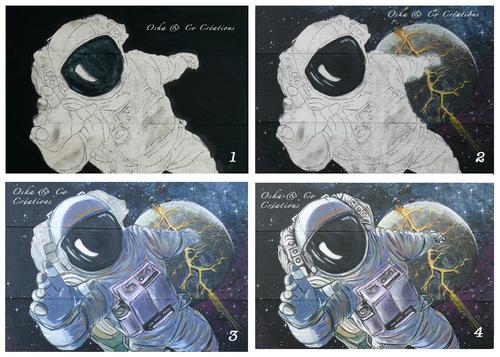 Cosmonaute en perdition pour compléter ma collection