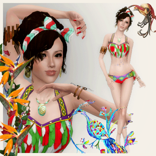 Nahua princesse Olmèque♥
