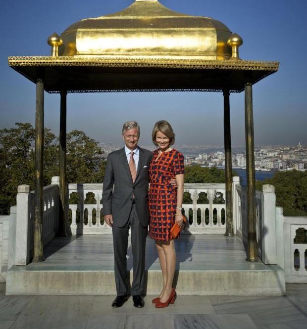 Philippe et Mathilde à Topkapi