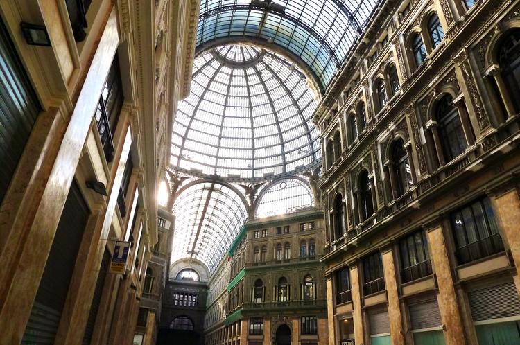 NAPLES (suite) Galleria Umberto I