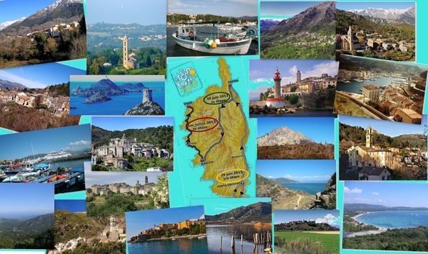 Le 100ème Tour de France 2013 en Corse avec des paysages exceptionnels