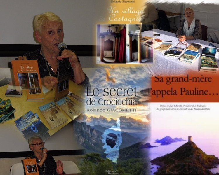 La conférence de Rolande Giacometti sur la Corse