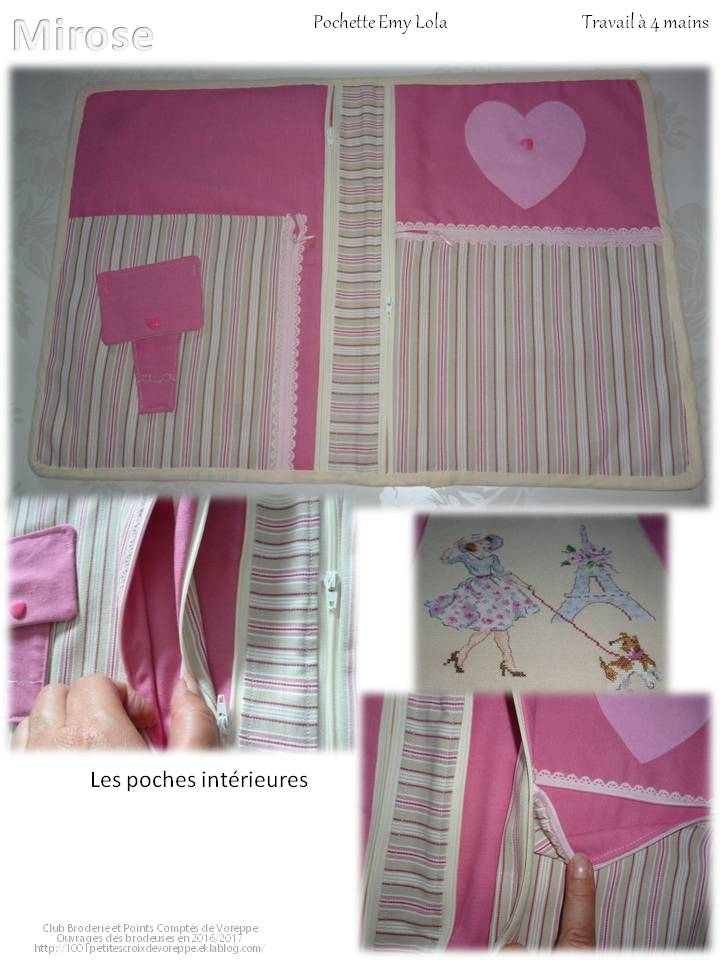 Pochette Emy Lola de Mirose