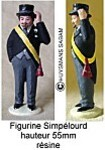 figurine Simpelourd - Arts et Sculpture