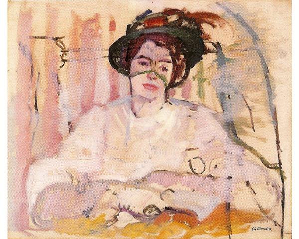 La Femme à la voilette,  1905