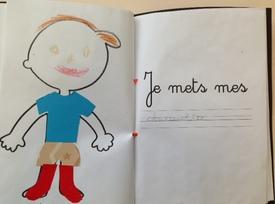 Un livre écrit et illustré par les GS