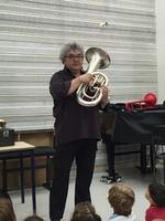 Visite de l'école de musique