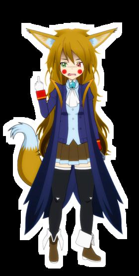 Iris the Pirate Fox