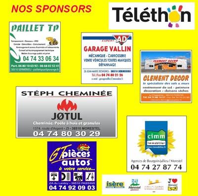 Merci à nos partenaires et sponsors