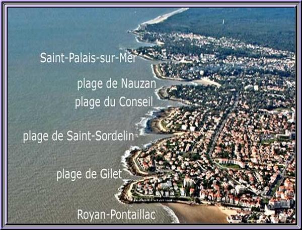 Le chemin des douaniers à Vaux sur mer  (charente maritime)