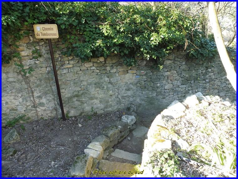 Luberon, le ravin de Combrès