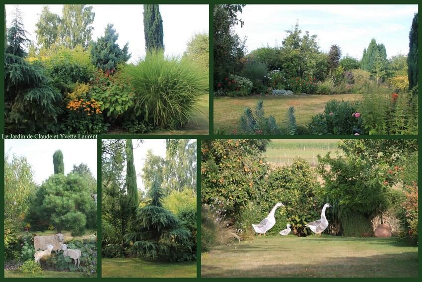 Le jardin de Claude et Yvette Laurent