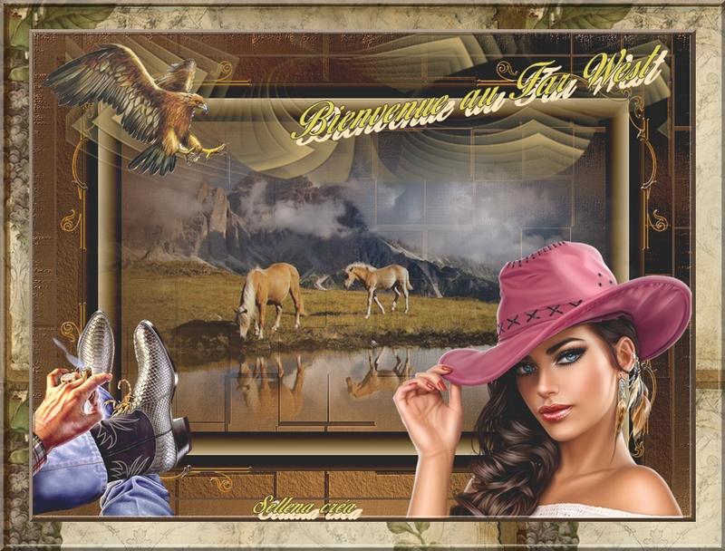 **Défi 50 Western**Beauty