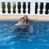 dans la piscine avec mon père ♡