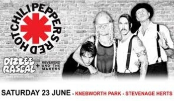 Red Hot Chili Peppers info 2 juin bon