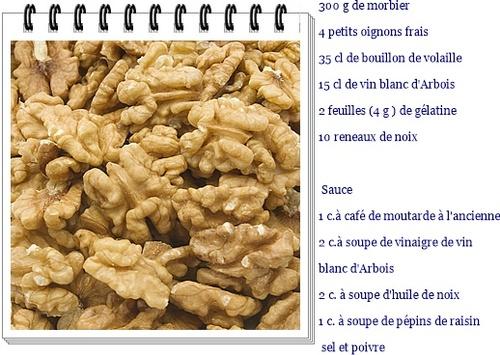 Marbré de Morbier aux épices
