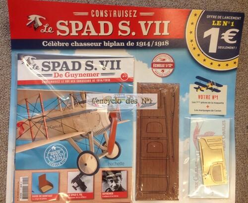 N° 1 Construisez le SPAD VII - Test