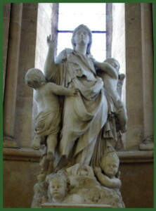 vierge baroque