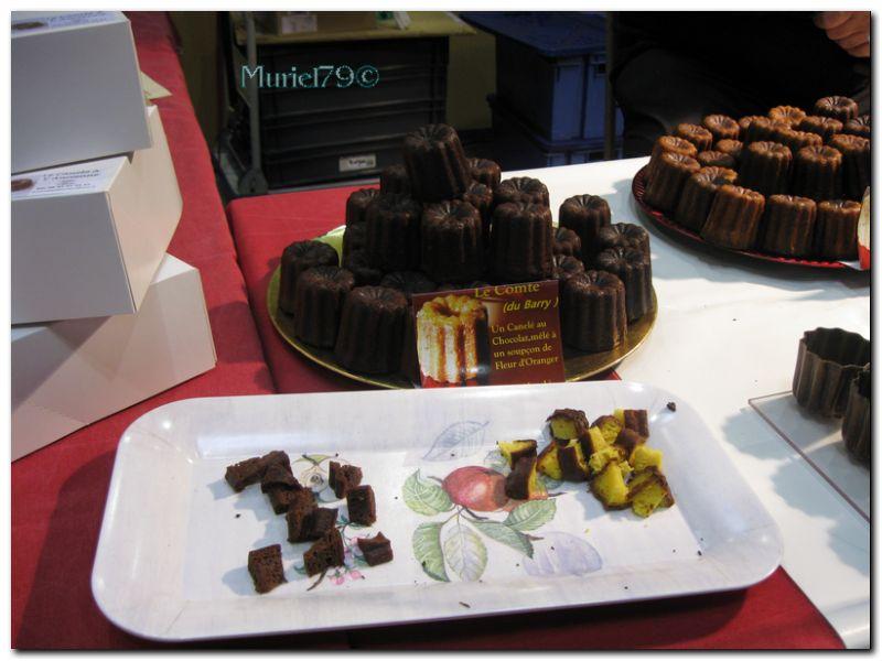 Salon du chocolat Bressuire : les canelés