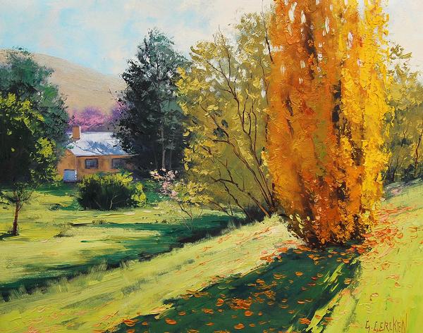 Peinture de : Graham Gercken
