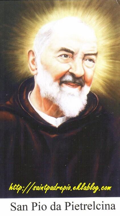 Padre Pio, luminosité