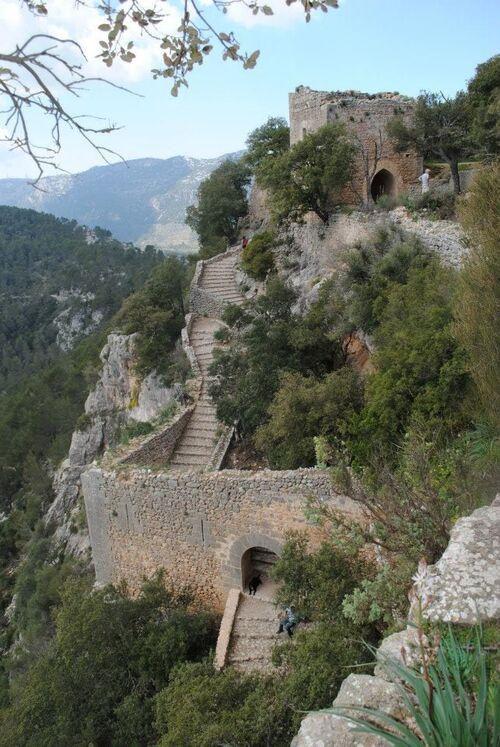Castel Alaro - ouest de l'ile - majorque