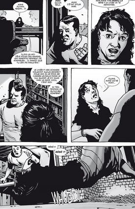 "Walking Dead vol.8 : Negan ""Comics BD"""