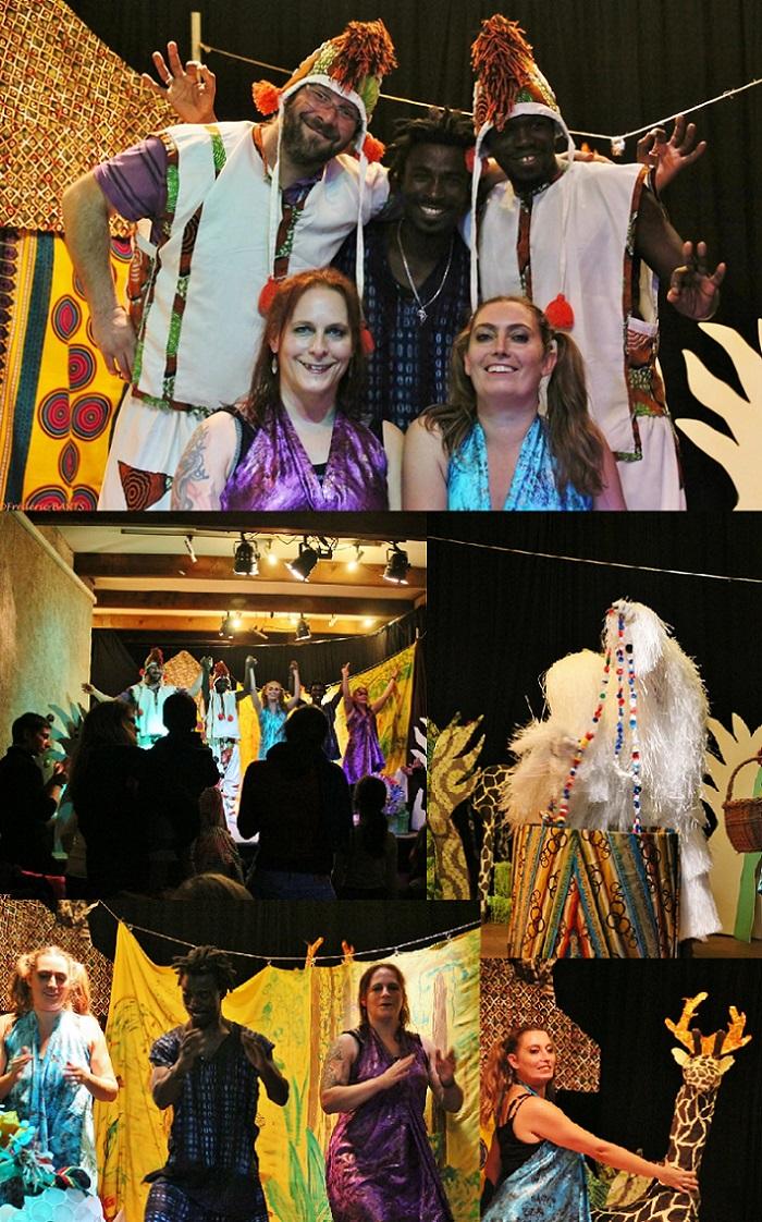RETOUR sur le spectacle Mômaix avec Africa foula 20.12.2017