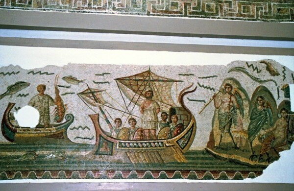Ulysse et les sirènes (Dougga)