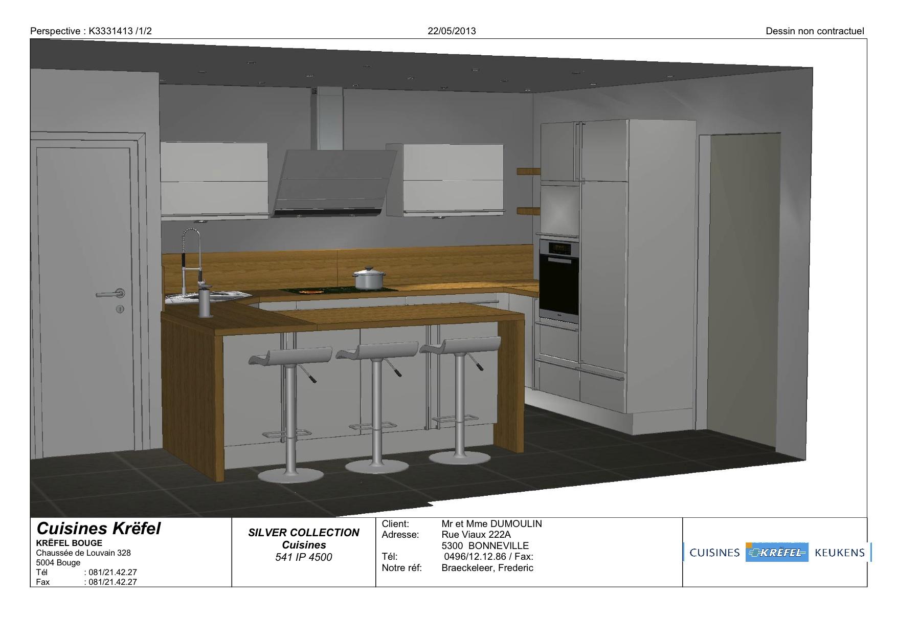 Les plans de notre maison notre projet de construction for Voir cuisine