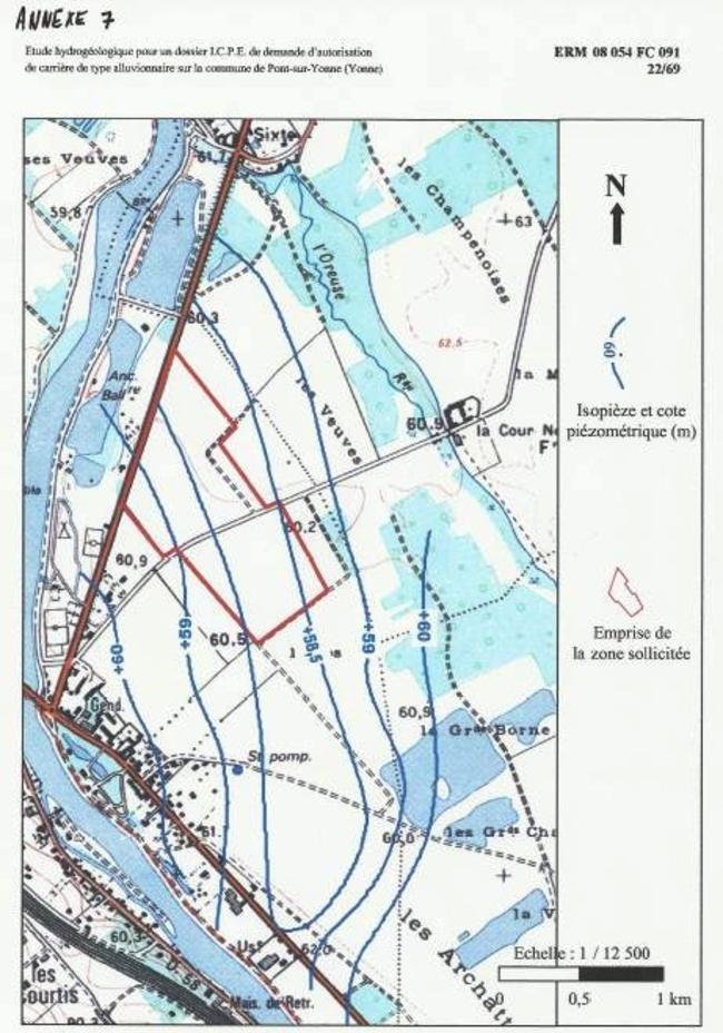 Annexe 7: izopièzes 1976