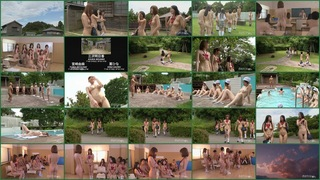 Голая японская школа. Полная версия / Japanese Naked School. Full version.