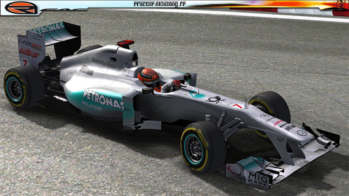 Saison 2011 - Team Mercedes GP
